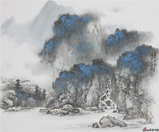 夏山欲雨318×46