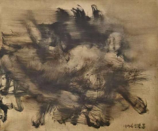 周春芽(b.1955) 裸女 133.4万成交