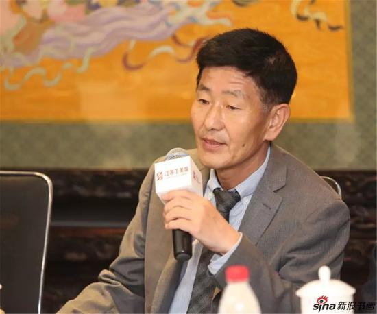 朝鲜人民艺术家文秀哲发言