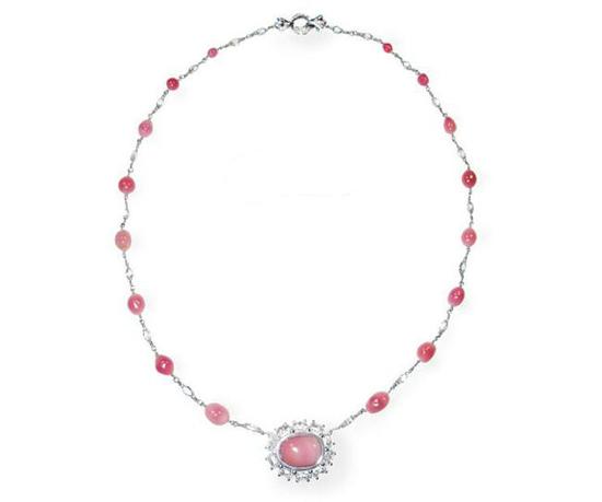 海螺珍珠Conch pearls 项链