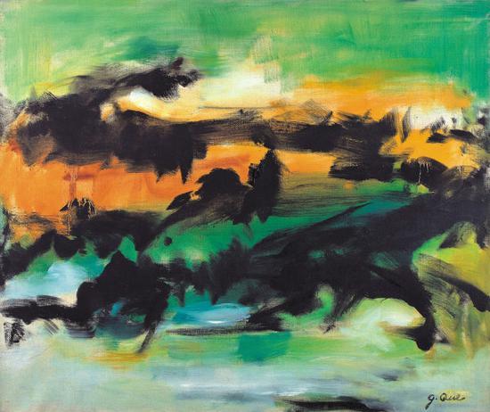 《逐》张功慤1982年作品