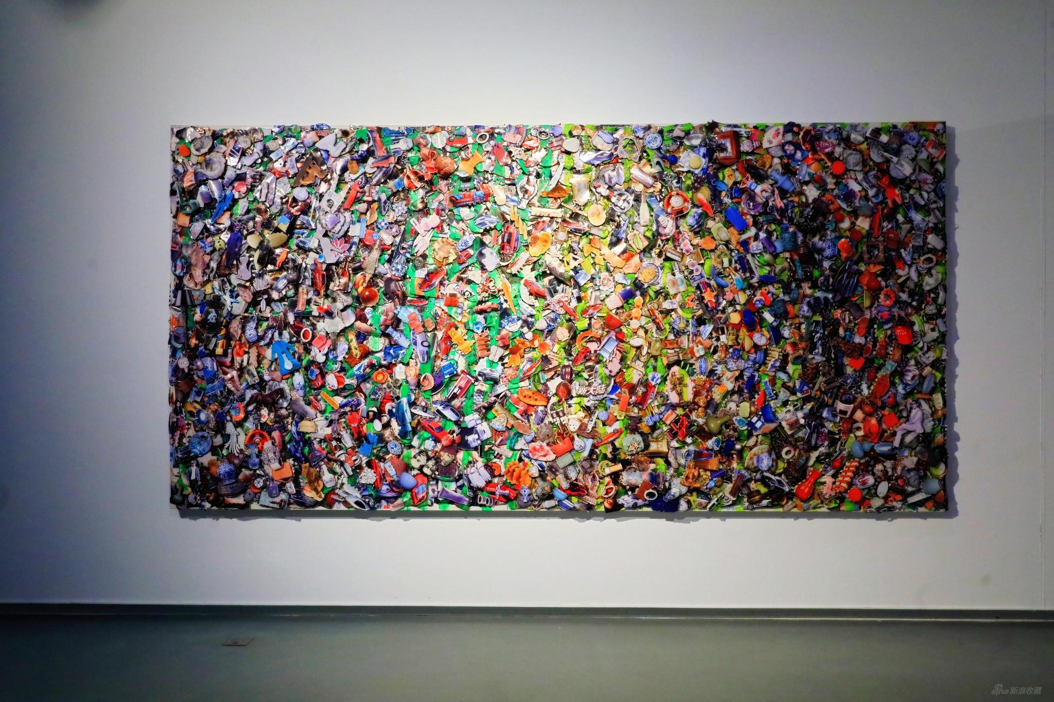 岳敏君,琐碎2,2012年