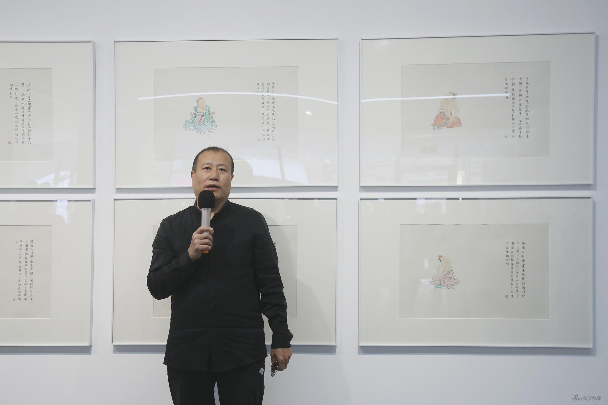 参展艺术家刘庆和