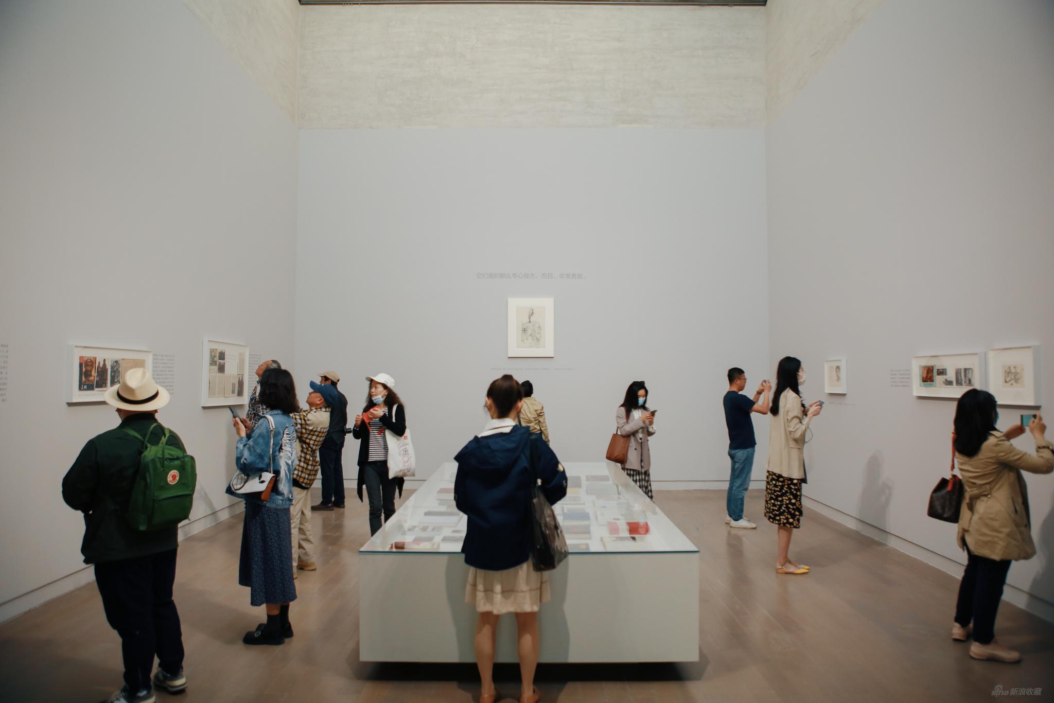 四十年再看陳丹青《西藏組畫》展覽現場