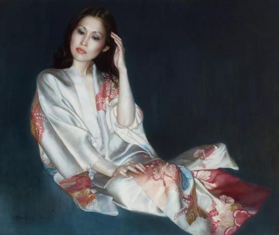 陈逸飞 预言者  1984年  布面 油画  117×137.5 cm  成交价:RMB 14,720,000