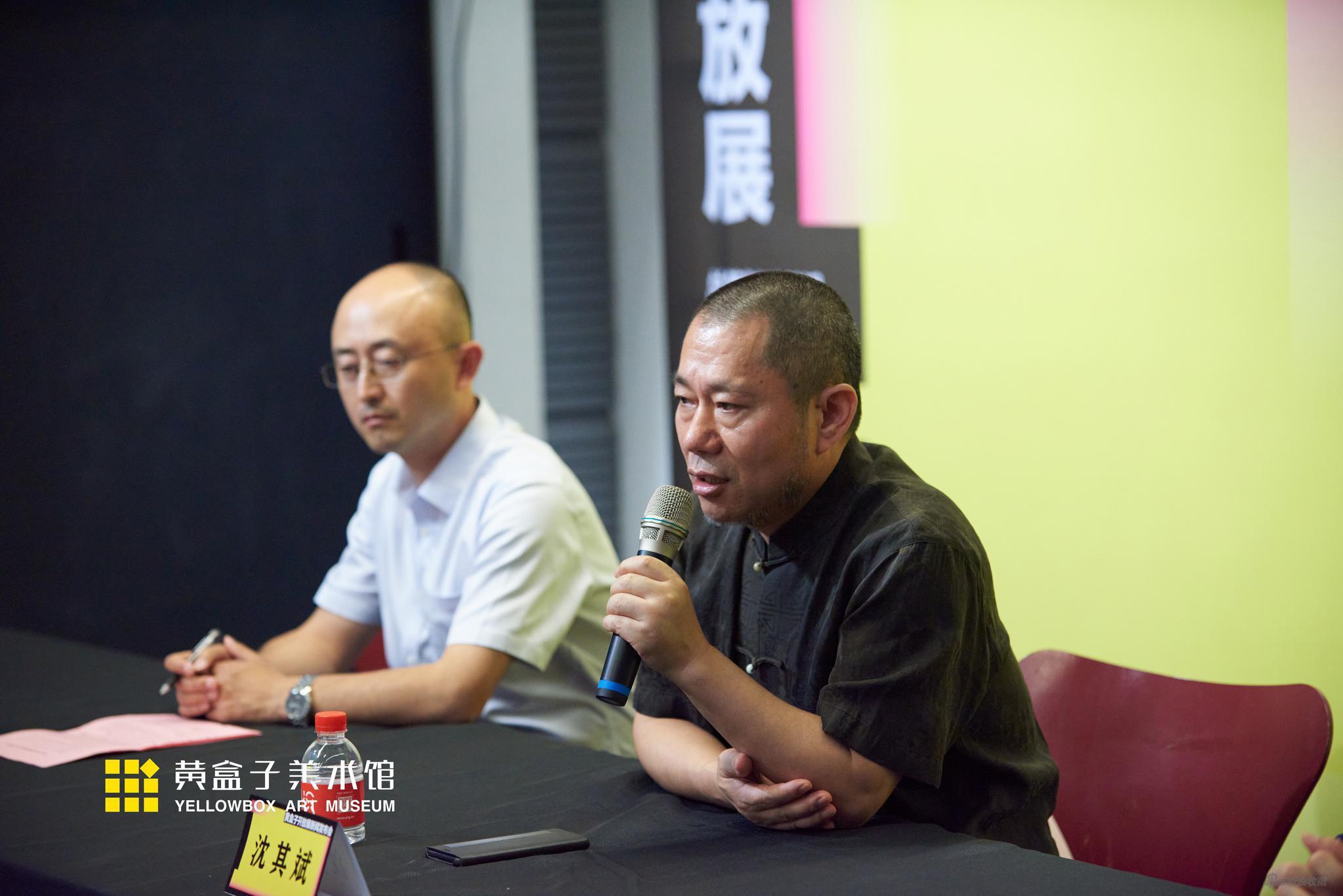 上海喜玛拉雅美术馆、青岛黄盒子美术馆馆长沈其斌介绍黄盒子开放展