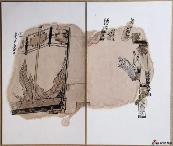 ▲籍系列之二 65 x 76cm 纸本