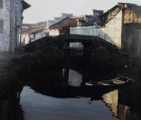 水乡拂晓   华艺国际2011冬季艺术拍卖会拍品   成交价:RMB 5,750,000