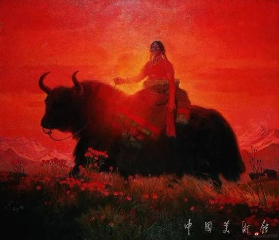 高原的歌,詹建俊,1979