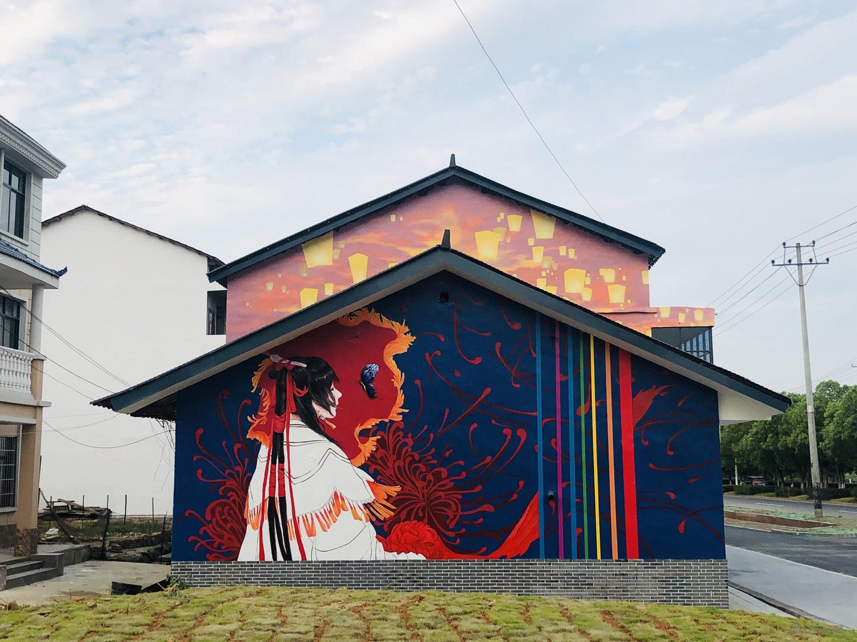 七夕文化壁画项目