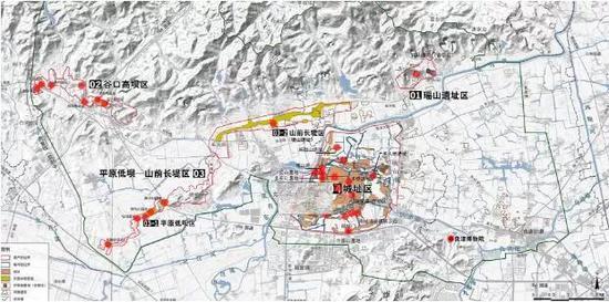 良渚文化各遗址分布图 图源:良渚遗址官网