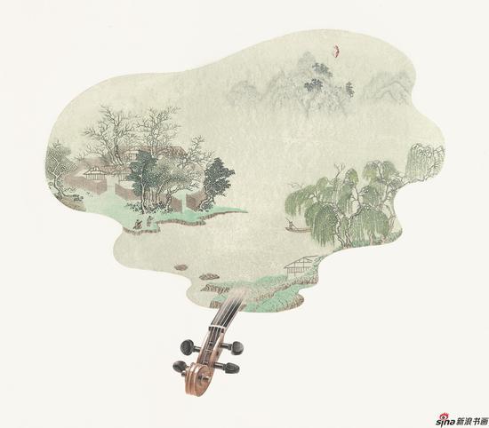 朱燕《澄韵》82X88cm 水印木刻2017年