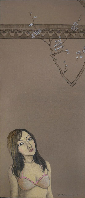 望梅120x50cm2008年
