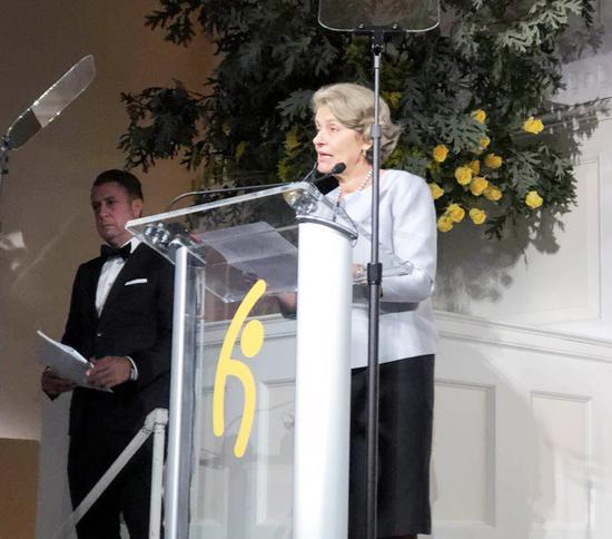 联合国教科文组织前总干事、全球希望联合会主席伊琳娜·博科娃女士致辞