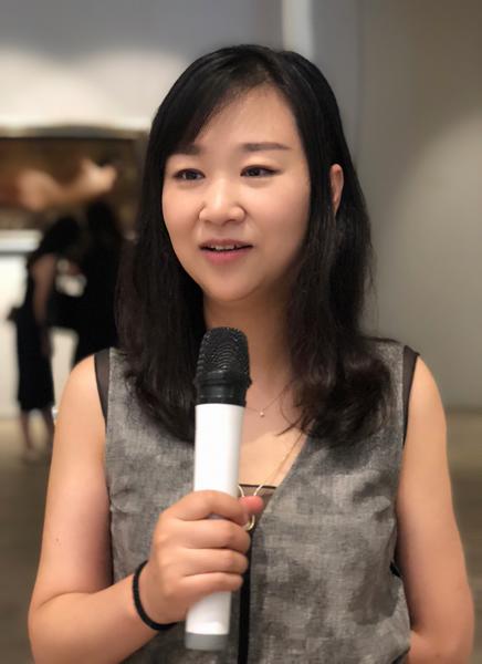 共同艺术中心运营总监鲍禹女士