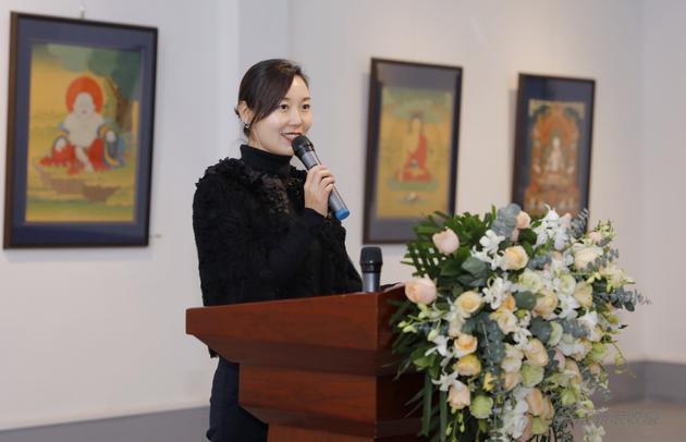 北京龙兮文化艺术有限公司王娜女士致辞
