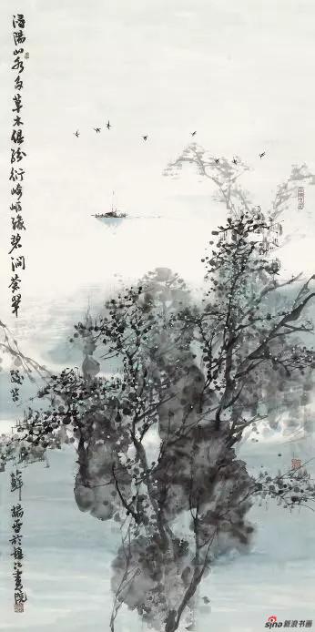 《山水江南》 138cm×69cm   杨 雷