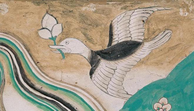 春分时节,看敦煌1600年前的珍禽瑞鸟