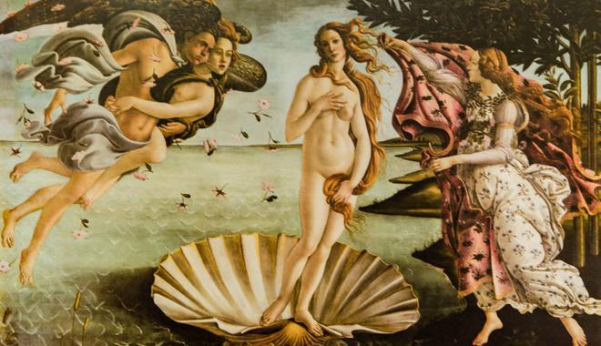 她是西方最喜欢画的女神 也是贞操带的受害者