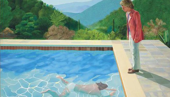 估价5.5亿霍克尼作品将上拍 或问鼎最贵在世艺术家