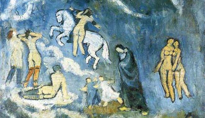 从蓝色到粉红色 毕加索的坚守与创意