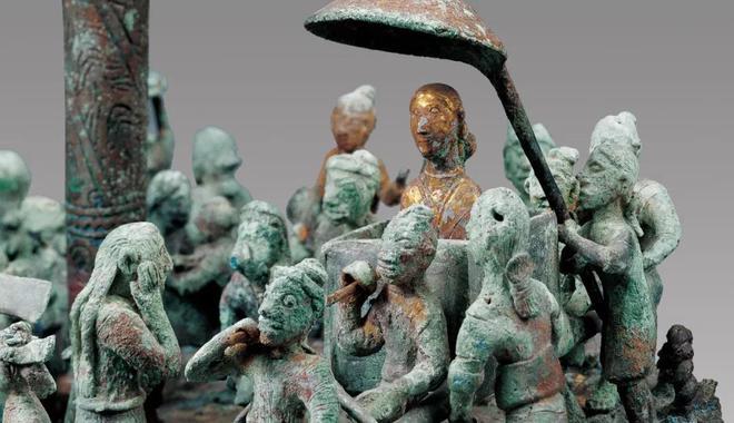 """""""人与神""""古代南方丝绸之路文物精华展亮相"""