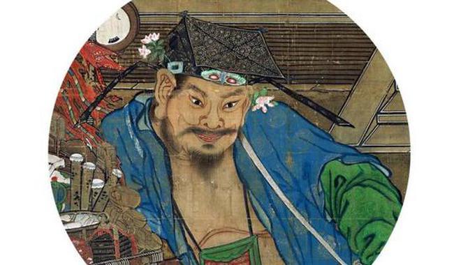 书画中窥得宋代男子的簪花习俗