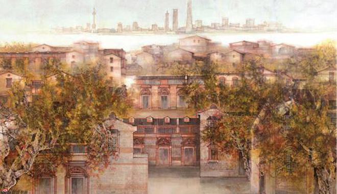 汪家芳 《上海》巨幅作品创作解读与感想