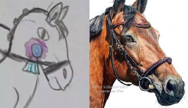 这位女主播画了16年的马 终于从学渣实现人生翻盘