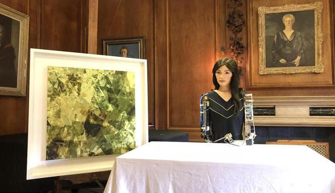 牛津大学将举办由智能机器人创作的艺术展