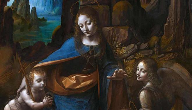 达芬奇《岩间圣母》发现新草图