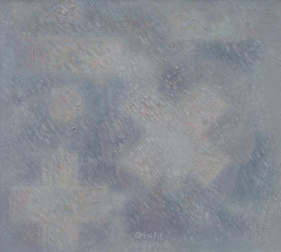 《加减乘除-3》36×40cm 布面油彩 2013