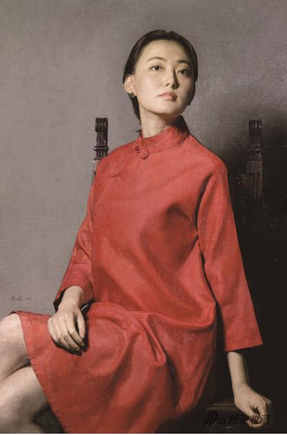 张义波 秀水花影 布面油画 120×80cm 2017年