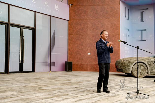 莆田市市委常委,市委宣传部长吴桂芳宣布展览揭幕