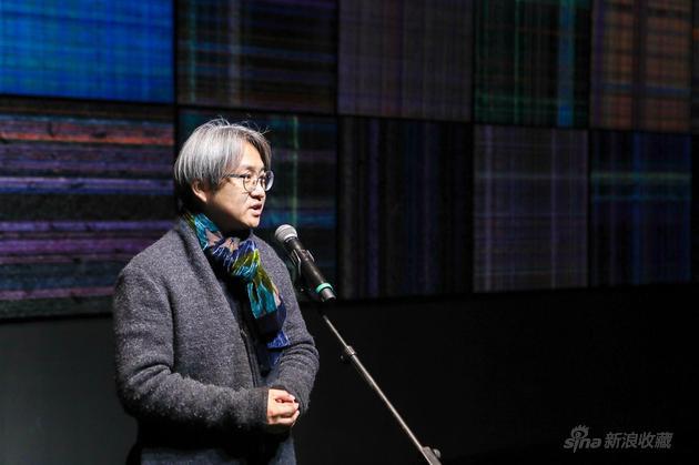 展览学术主持、北京画院美术馆馆长、第58届威尼斯双年展中国馆策展人 吴洪亮