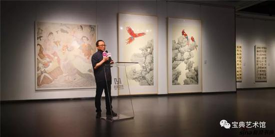 苏州国际文化交流中心理事长陆衡致辞