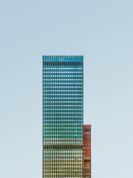 《奇异建筑》 摄影师:Florian W。 Mueller(德国)