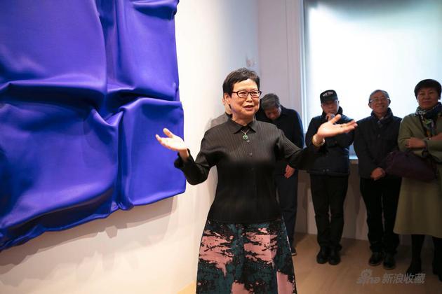 台北故宫博物院前院长冯明珠主持开幕式