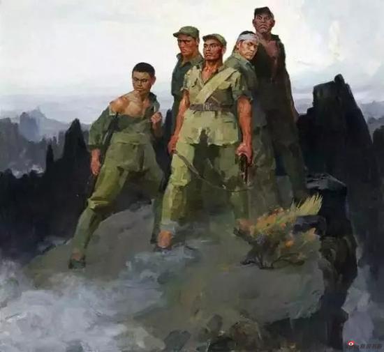 詹建俊 狼牙山五壮士 1959年