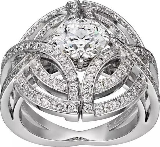 Galanterie de Cartier戒指