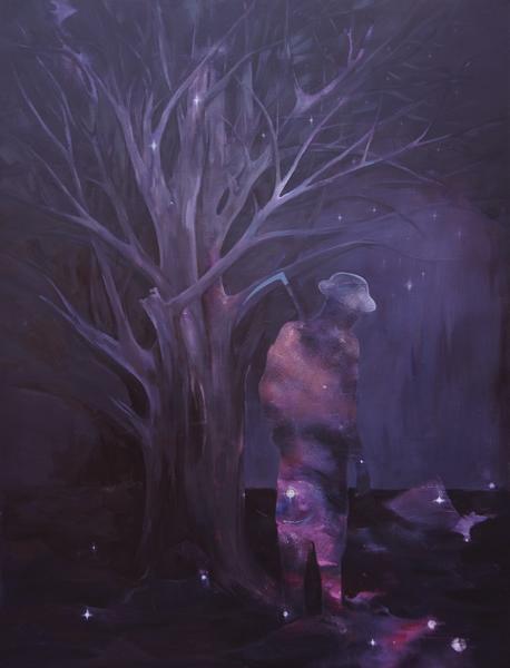 看不见的风景3 刘纪生 布面油画 130cmx170cm 2017年