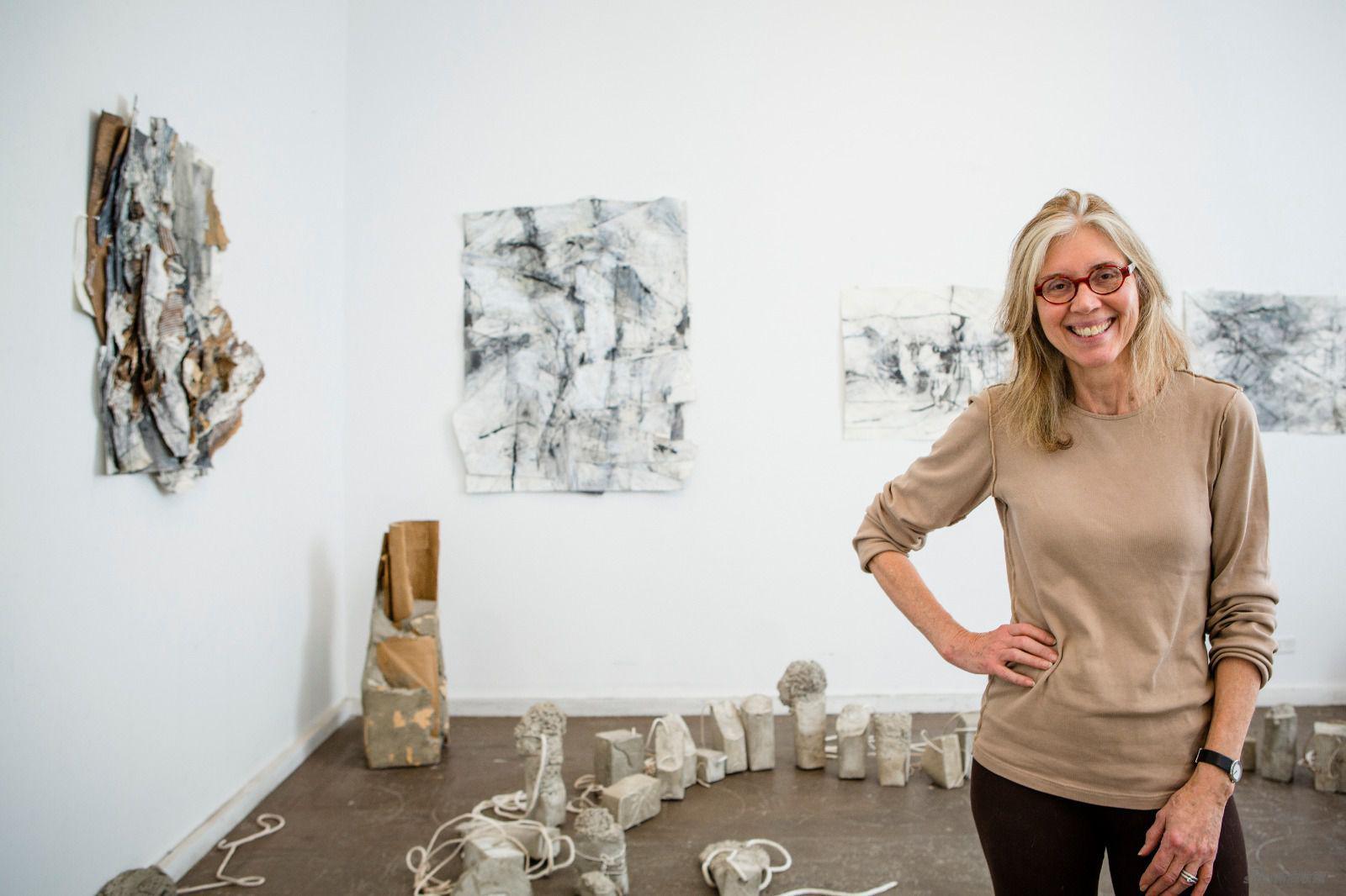 藝術家露絲·哈丁格肖像照