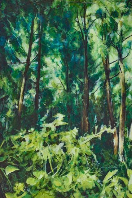 《小灵鹫-1》 布面油画 90×60cm 2017