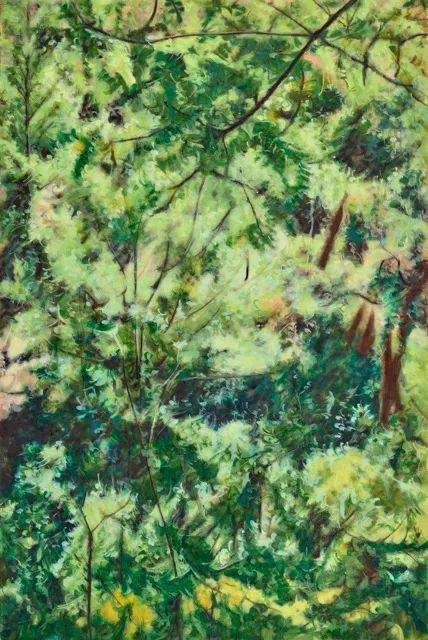 《西束女的猫狗店男娃-1》布面油画 120×80cm 2016
