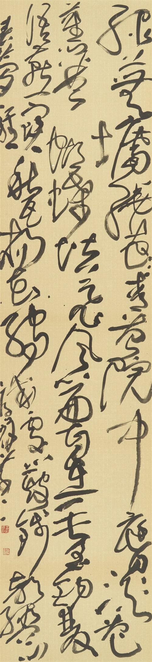 王厚祥《草书》234x54cm
