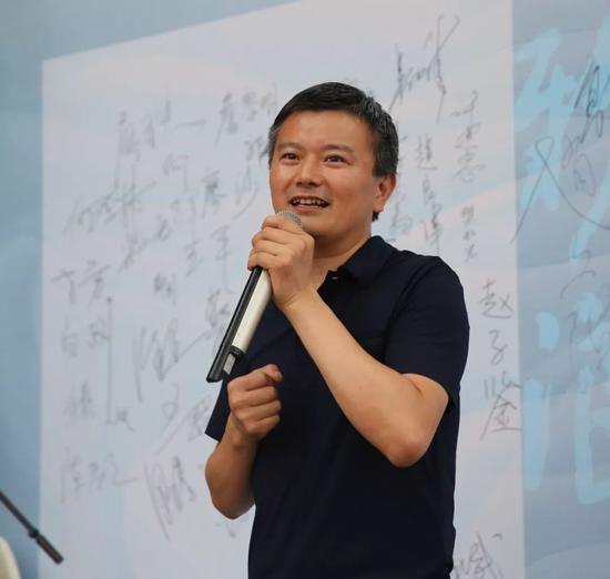 北京杏坛美术馆馆长黄和平致辞