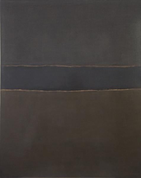 张震宇,《dust180414》,100cmx80cm,dust on board,2018