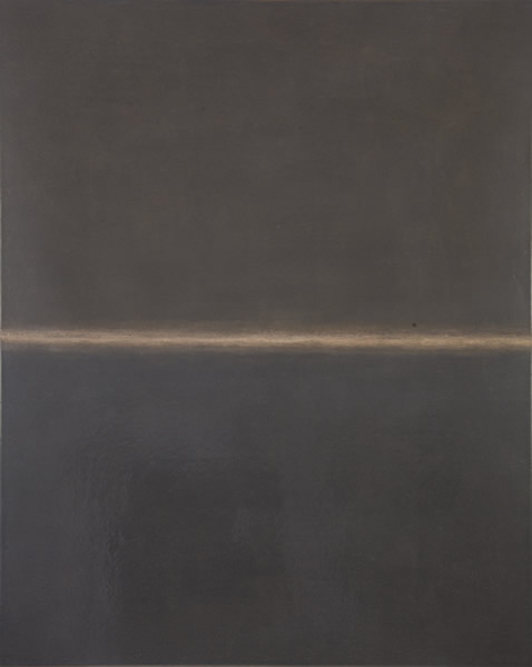 张震宇,《dust180423》,100cmx80cm,dust on board,2018
