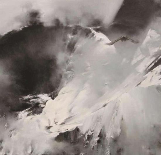 58《梦归昆仑系列之十一》张雷震 180cm×150cm 布面油画 2016年