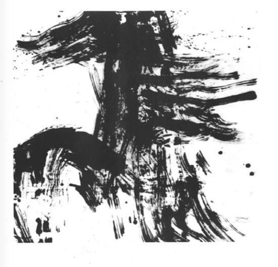 黄建国 ,《无题》,200cm×200cm,1991年